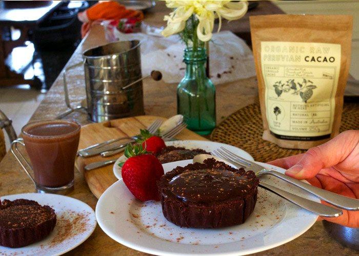 cacao tart