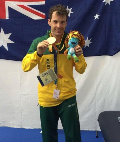 Matt Levy Swimmer