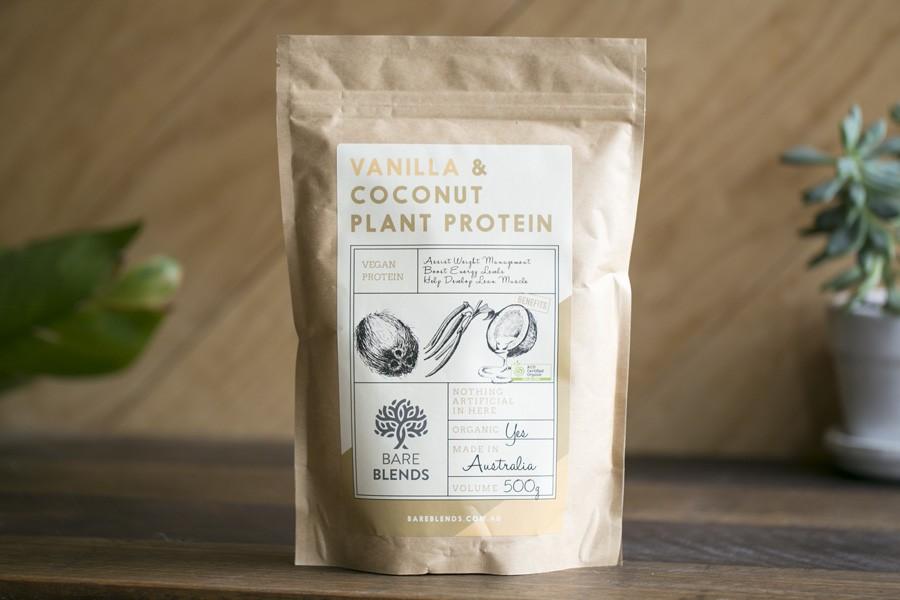 Vanilla & Coconut Plant Protein