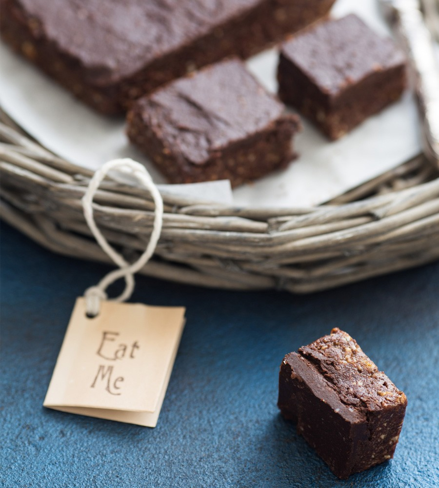 Dark Chocolate Protein Brownies
