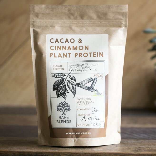 Cacao Cinnamon Plant Protein