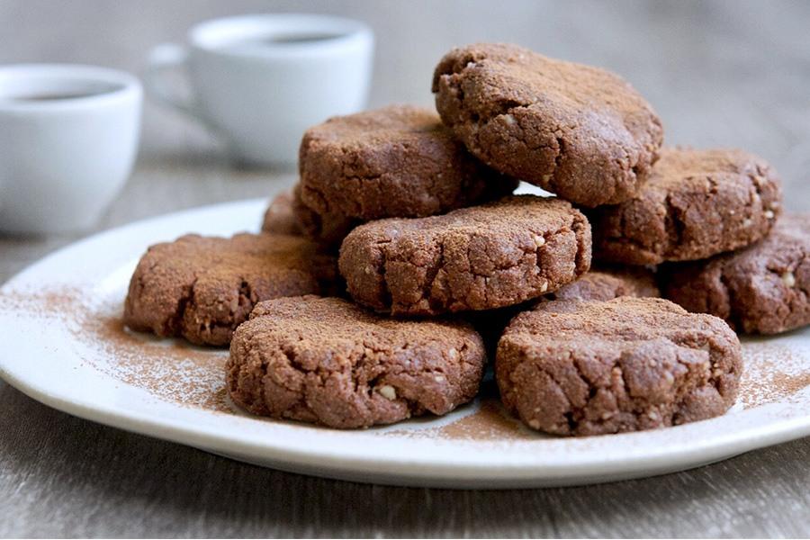 choc fudge cookies