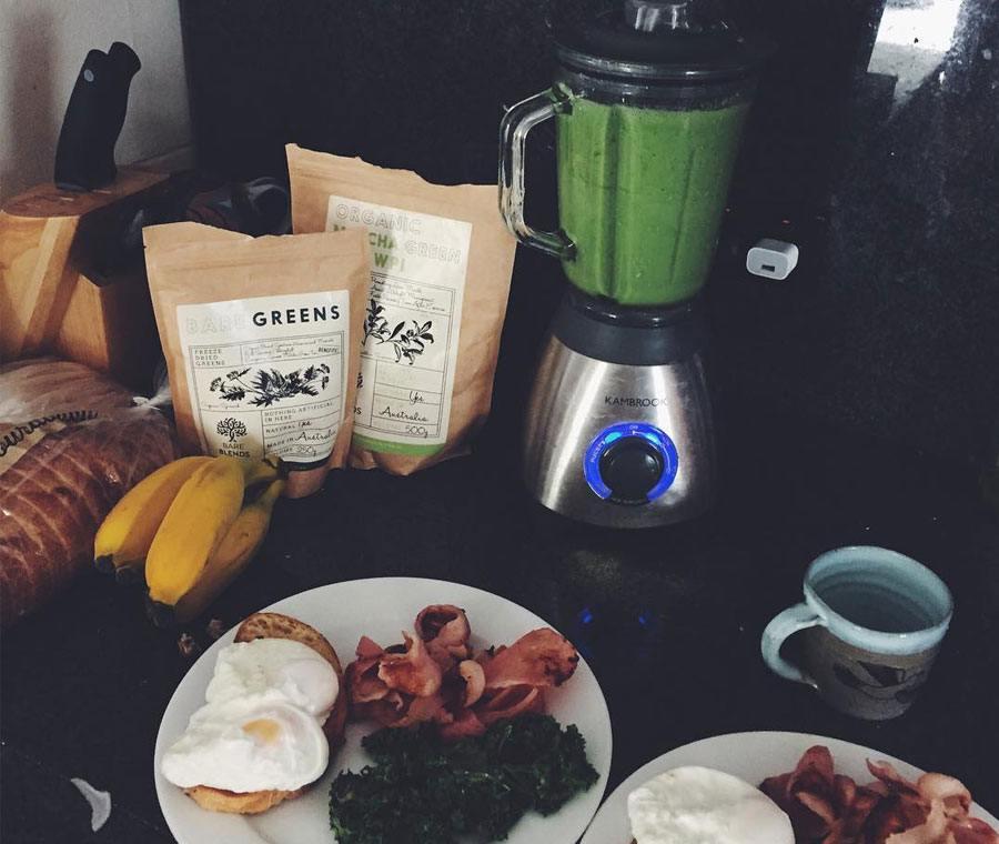 Soli Bailey Breakfast