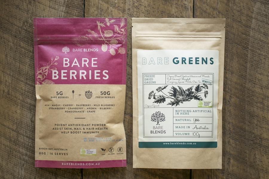 Bare Greens Bare Berries